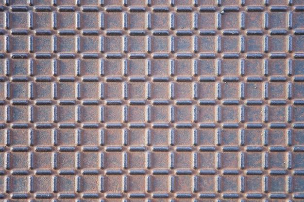 Manhole cover metallic backdrop