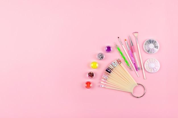 Manicure, gel nail art design equipment