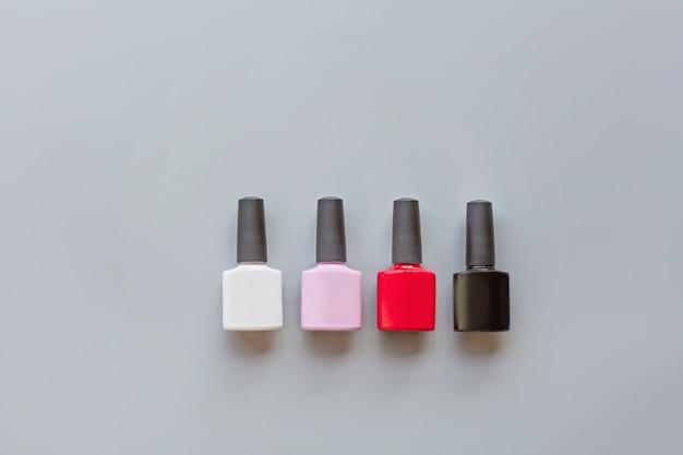 Manicure gel polishes