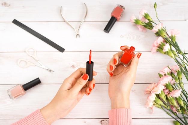 Manicure nail paint multi color