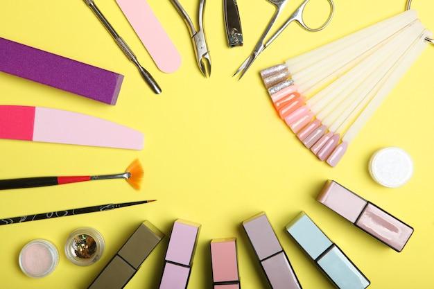 Маникюрные инструменты для создания гель-лаков все для обработки ногтей