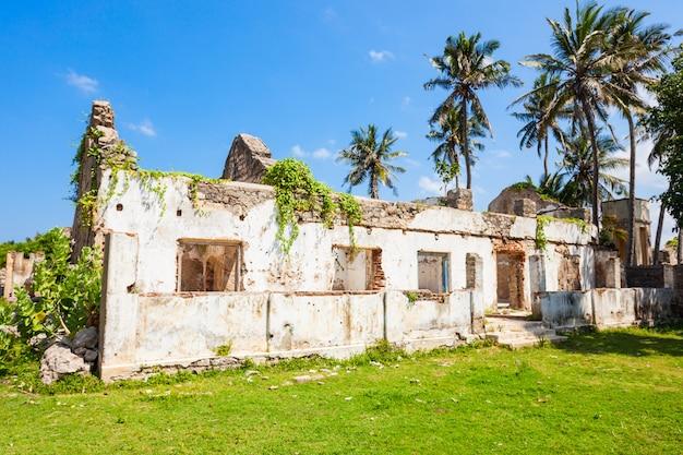 マナーフォート、スリランカ