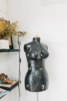 Mannequin in art studio