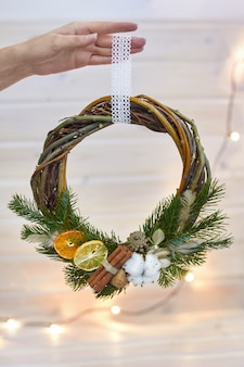 Manufacturer of christmas decor wreath