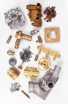 Manufactures of brass and copper