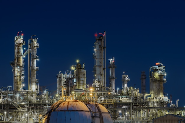 Manufacturing of oil and gas refinery industrial