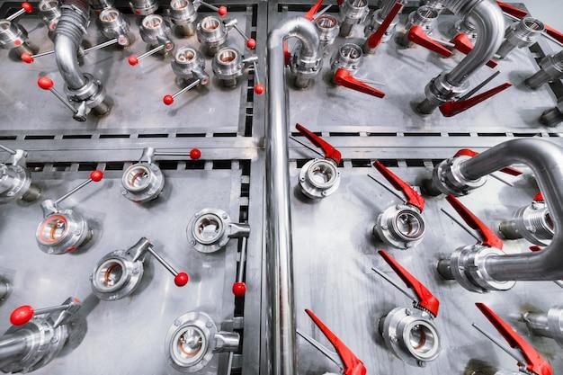 Many ball valves