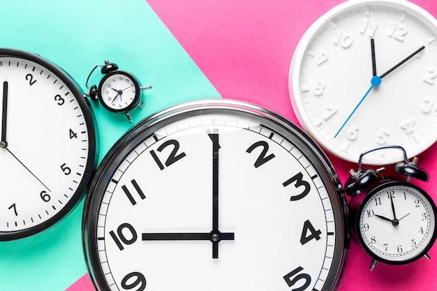 Many different clocks
