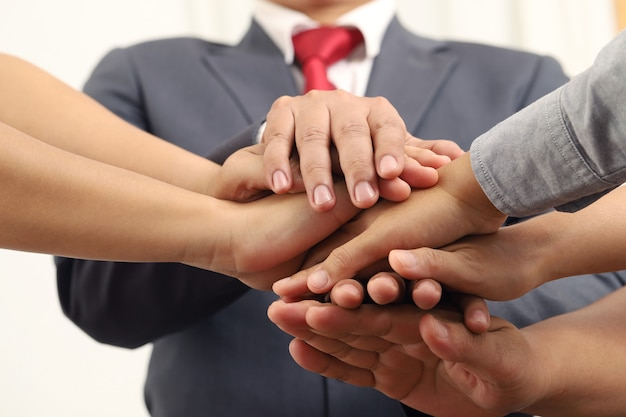 多くの起業家が手を取り合って貿易に投資しています。