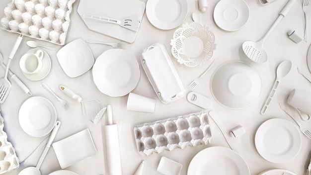 Many kitchen utensils