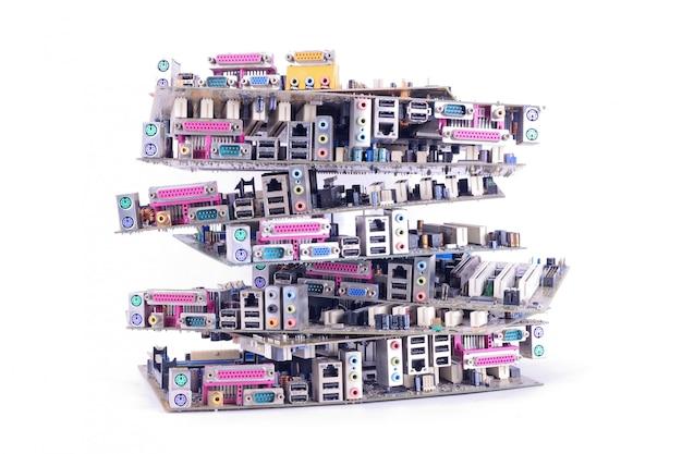 Many mainboard