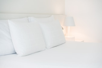 Many white pillows