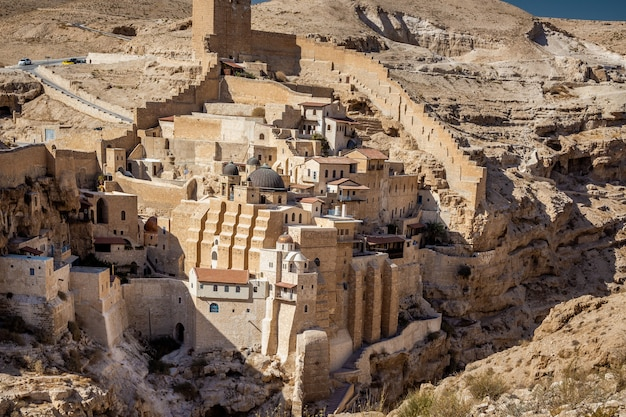 Монастырь мар саба