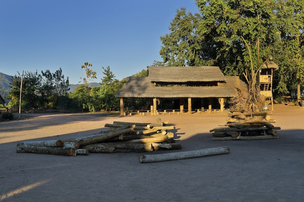Marankiari community house in the jungle
