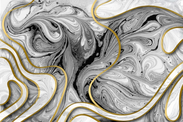 Marble abstract acrylic background
