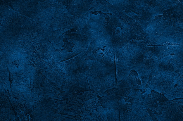 Marble or concrete background of classic blue color