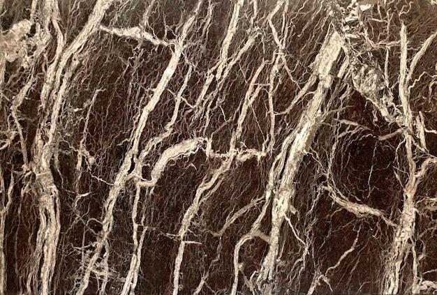 Marble dark black stone texture with white streaks