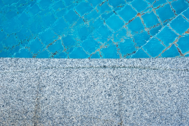 Marble floor of the pool background