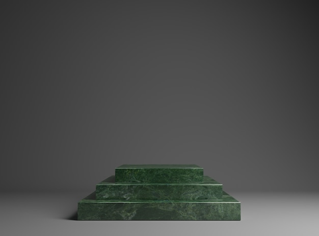 Marble podium for the exhibition of goods