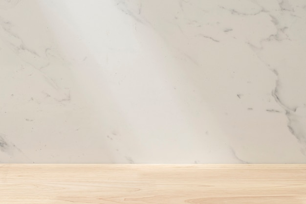 Vetrina sullo sfondo del prodotto in marmo