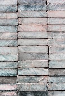 Мрамор сложены вместе, показывая красивые узоры