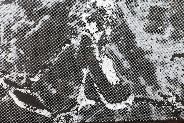 Marble surface texture with black tint