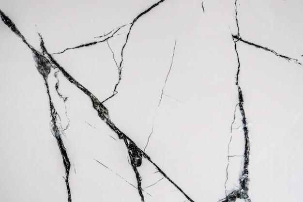Мраморная текстура белого или черного цвета и гранж-фон