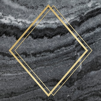 Marble textured backdrop frame