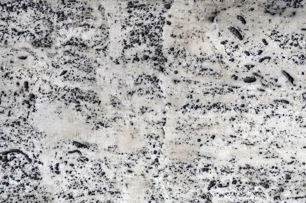 대리석 흰색과 검은 색 텍스처