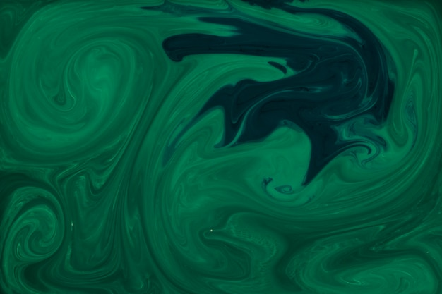 Marbled abstract green surface design pattern