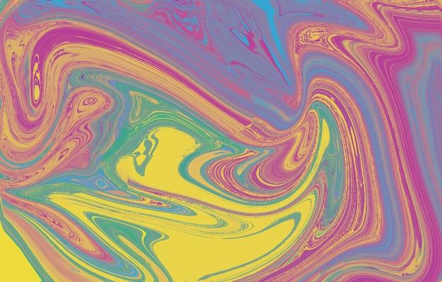 マーブリング大理石のテクスチャ芸術的な抽象的なカラフルな背景ペイントのスプラッシュカラフルな流体