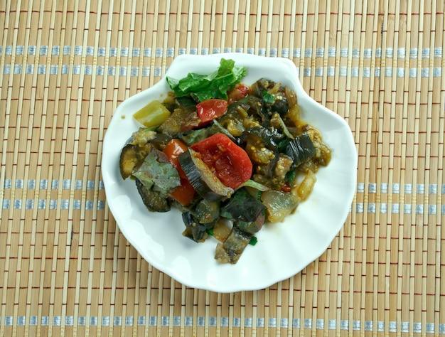 Marga betinjan -  popular mediterranean dish