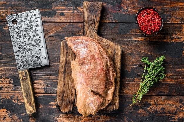 Маринованный в горчице стейк три кончика говядины в маринаде для барбекю