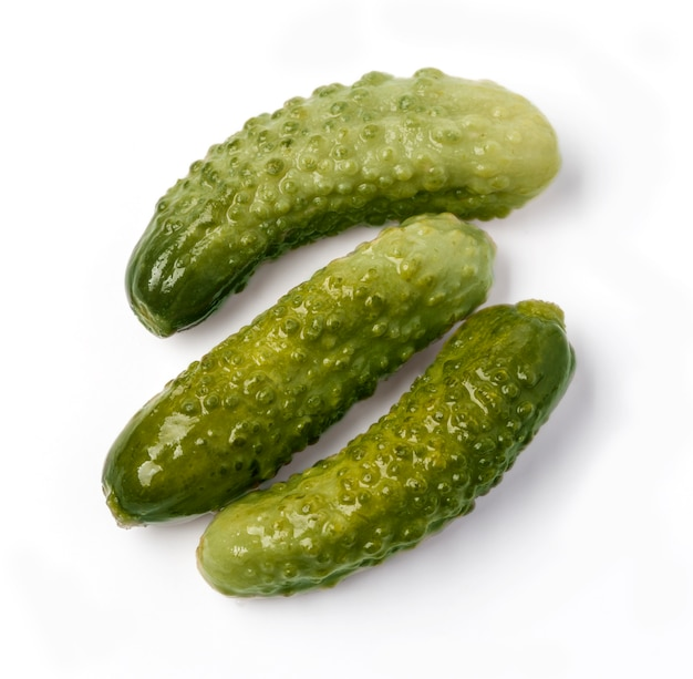 Marinated pickled cucumbers