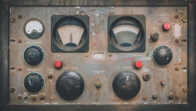 Marine control panel instrument