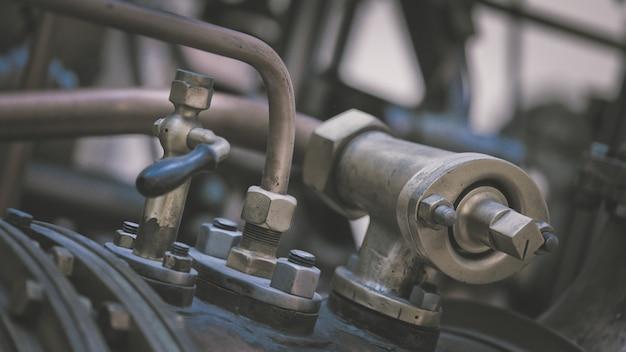 Marine engine parts machine