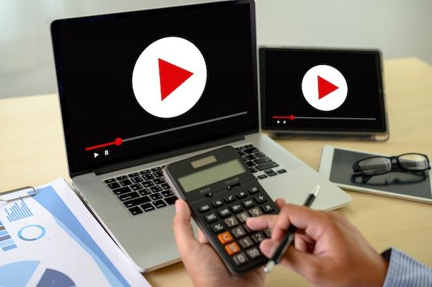 Marketing technology concept