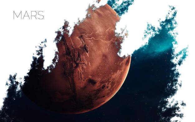 Марс в космосе