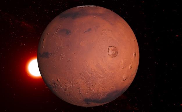 화성 행성과 우주