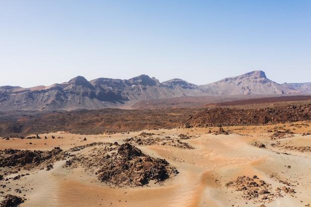 Mars the red planet's desert landscape