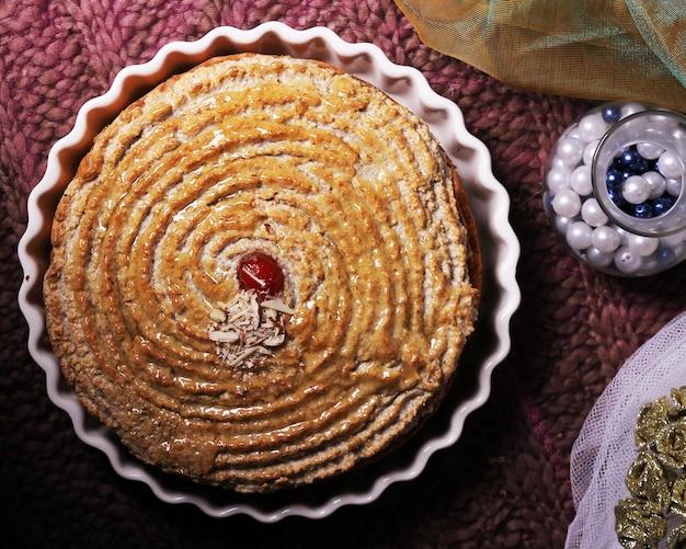 마시멜로 케이크