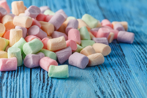 Marshmallows. background or texture of marshmallow