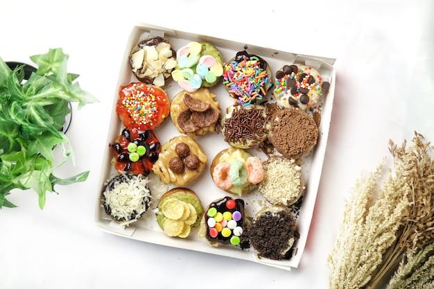 Martabak mini или martabak mini bangka с различными начинками