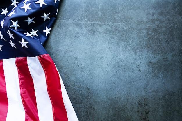 マーティンルーサーキングデーアニバーサリーアメリカ国旗