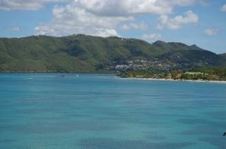 Мартиника остров, песок