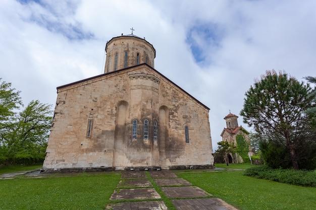 7世紀に建てられたmartvili正教会の修道院。ジョージア、samegrolo。トラベル
