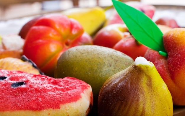 Marzapane fruits