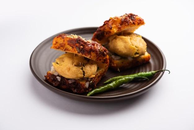 Masala vada pav or wada pao is an indian snack