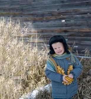 Масленица концепция. праздник русской весны-масленица.
