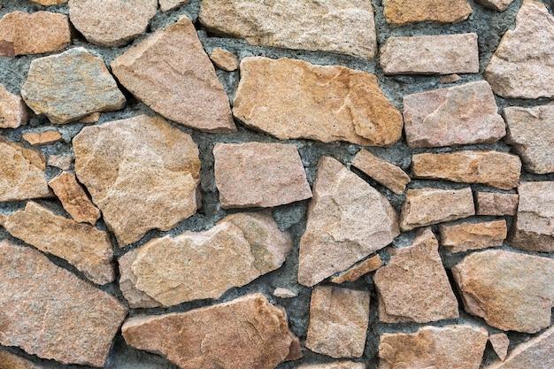 自然の背景としての石積み